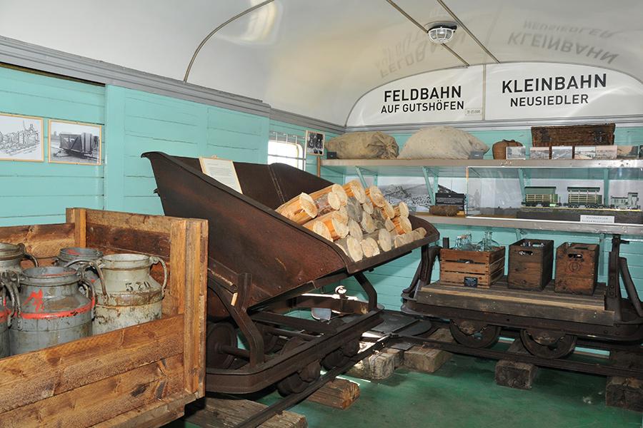 Ausstellung im Bahnhofsmuseum Mönchhof