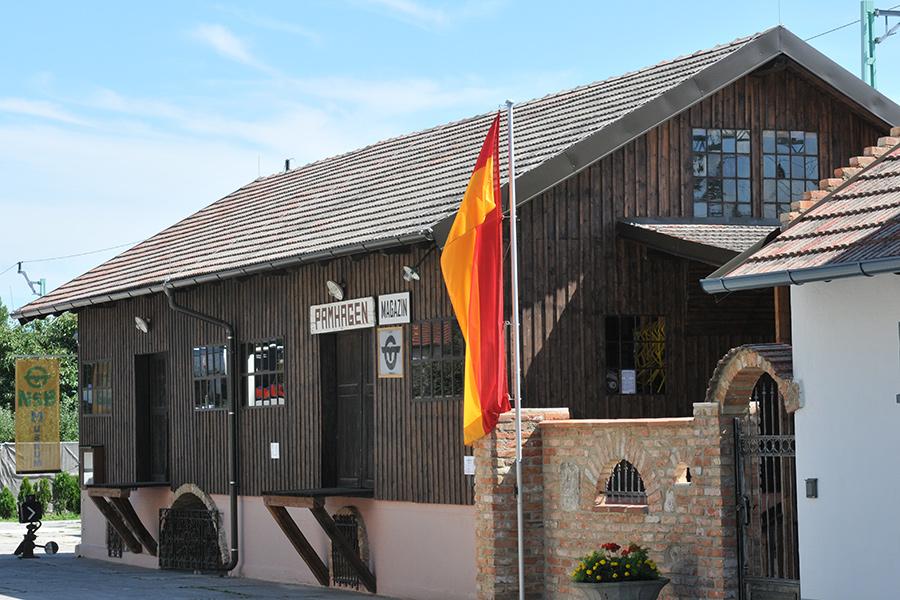 Schau-Magazin im Bahnhofsmuseum Mönchhof