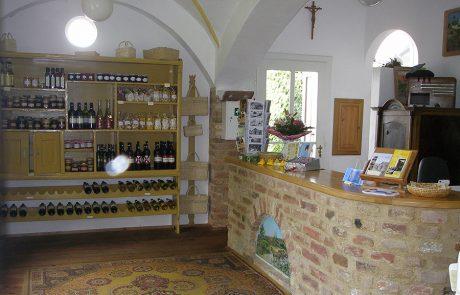 Eingangsbereich im Dorfmuseum Mönchhof
