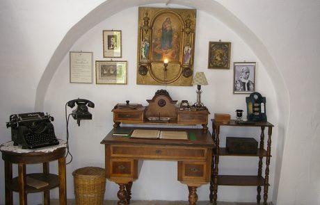 Kanzlei im Pfarrhaus im Dorfmuseum Mönchhof