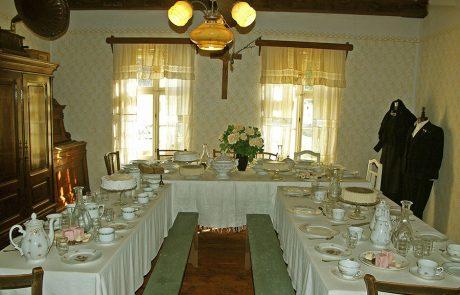 Hochzeitszimmer im Dorfmuseum Mönchhof