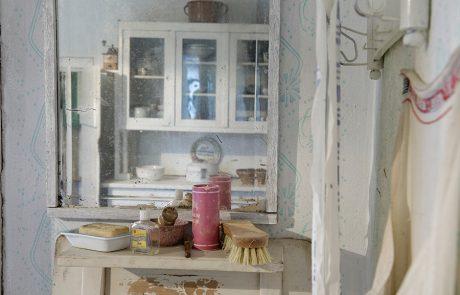 Frisiersalon im Dorfmuseum Mönchhof