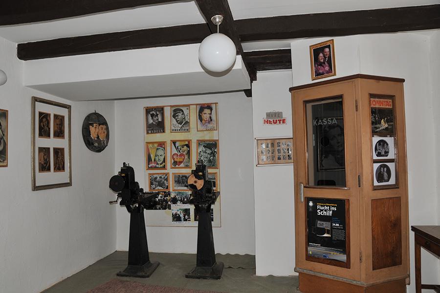 Altes Kino im Dorfmuseum Mönchhof