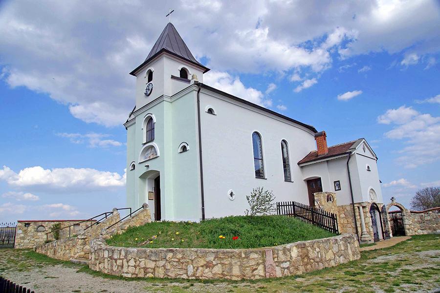 Die Kirche St. Josef im Dorfmuseum Mönchhof