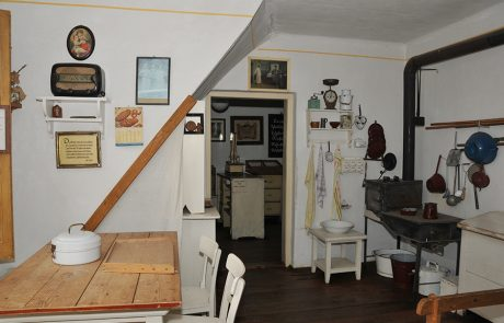 Wohnraum im Dorfmuseum Mönchhof