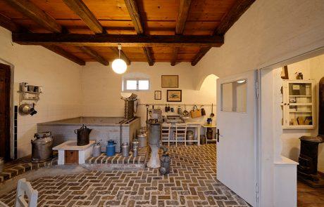 Milchhaus im Dorfmuseum Mönchhof