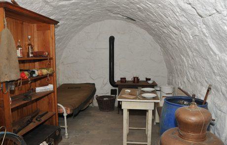 Gewölbe im Dorfmuseum Mönchhof