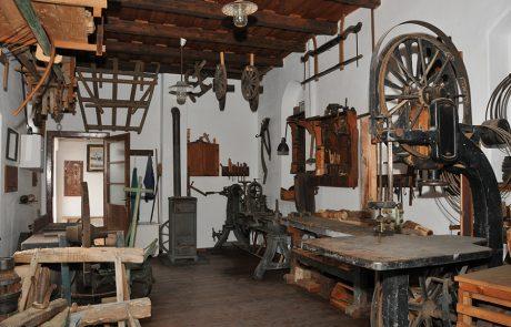 Werkstatt im Dorfmuseum Mönchhof