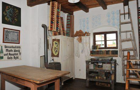 Malerwerkstatt im Dorfmuseum Mönchhof