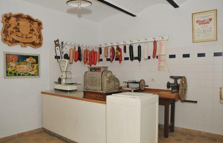 Fleischerei im Dorfmuseum Mönchhof