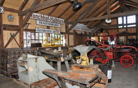 Bahnhofsmagazin im Dorfmuseum Mönchhof