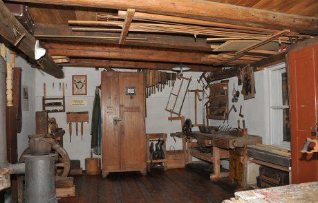 Tischlerei im Dorfmuseum Mönchhof