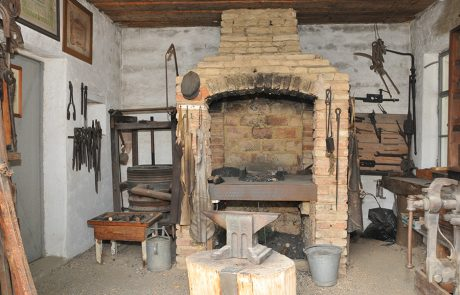 Schmiede im Dorfmuseum Mönchhof