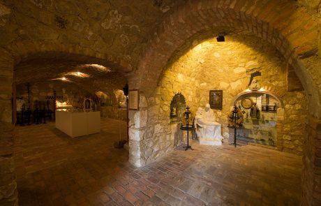Krypta im Dorfmuseum Mönchhof
